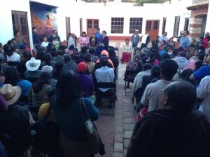Atención en Teposcolula, afectados por cajas de ahorro
